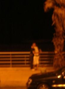 Ca se bécote quand même sur la corniche (crédit photo Camille Andres)