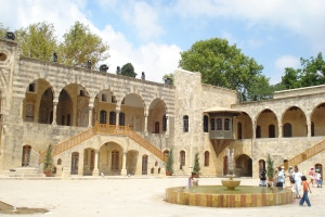 Le palais de Beiteddine, but de l'escapade.