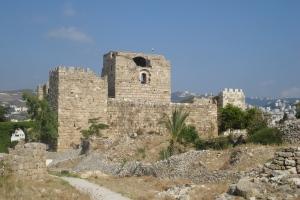 Château des Croisés a Byblos.