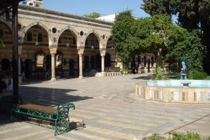 Cour du Palais Azem.