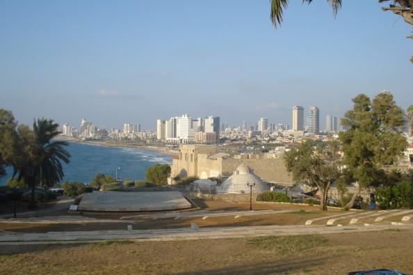 Tel-Aviv, vue de Jaffa.