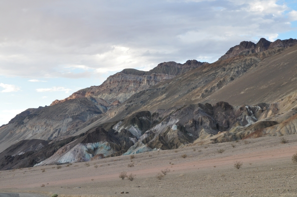 Artist Drive, oasis de couleur à Death Valley.
