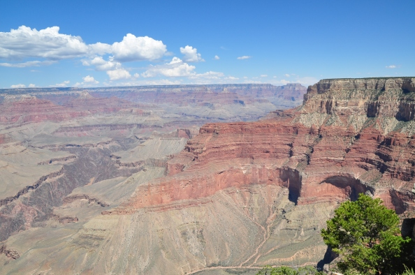 Grand Canyon, quelques milliards d'années de mouvement imperceptible.