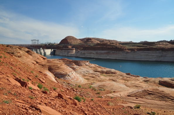 Barrage de Lake Powell.