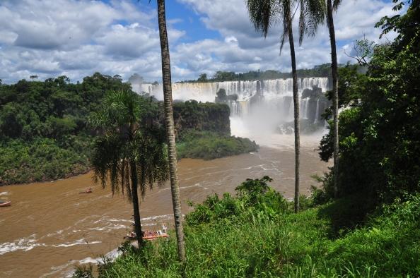 Chutes d'Iguazu, depuis la rive argentine.