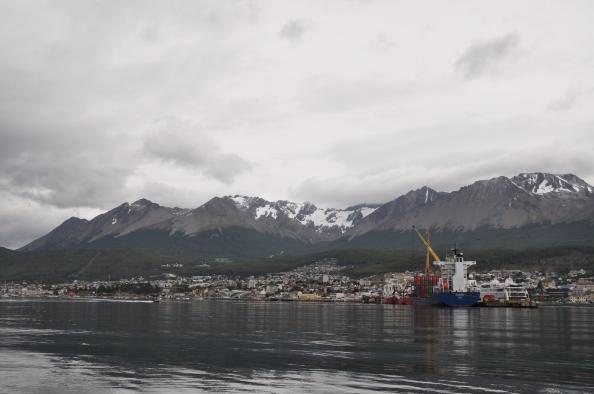 Ushuaia et le port.